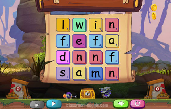 Free Wordplay Game - Boggle
